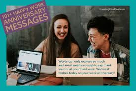 Below we have collected some of the work anniversary wishes and quotes to wish an employee and make him realize that he/she is a strong player and holds a special place in the company. 101 Happy Work Anniversary Messages To Make Someone S Day