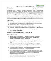 Project Manager Resume Template 10 Free Word Excel Pdf