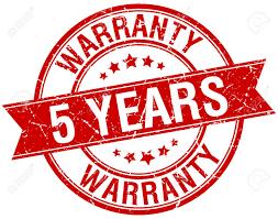 Αποτέλεσμα εικόνας για 5 years guarantee