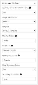 Auction Registration Form Template Adding A Registration Form Documentation Ultimate Member