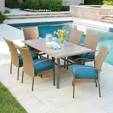 lawn furniture home depot. Incredible Hampton Bay Corranade Piece Wicker Outdoor Dining Set With Pict For Patio Furniture Home Depot Lawn E