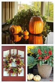 these fall home decor ideas use natural garden elements to welcome autumn