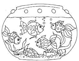 Small Picture Coloring Pages Of Fish Tank Coloring Pages