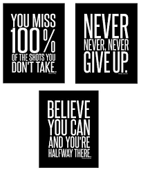 motivational inspirational famous quotes teen boy girl sports wall art posters decorative prints black white workout on motivational quotes for athletes wall art with amazon motivational inspirational famous quotes teen boy girl