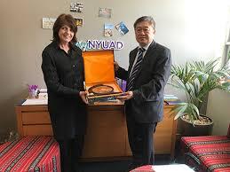 Delegation of Xinhua College of Sun Yat-sen University Visited New York  University Abu Dhabi - News Center - 中山大学新华学院