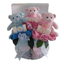 three little bears in a box boys s baby gift herstriplet