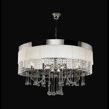 chrome crystal 4 light round ceiling chandelier modern chandelier modern crystal chandelier lighting