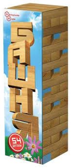 <b>Настольная игра Нескучные игры</b> Башня 54 дет — купить по ...