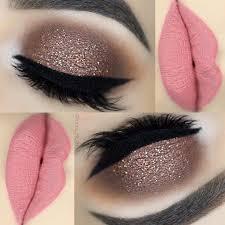 25 easy glitter eye makeup ideas