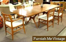 mid century modern dining room table set large and beautiful photos inside chairs inspirations 12