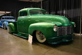 Late 40s/early 50s full custom Chevy truck, built and painted by ...