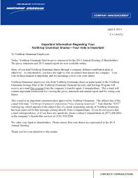 Northrop Grumman Organizational Chart Noc 2014 Def 14a