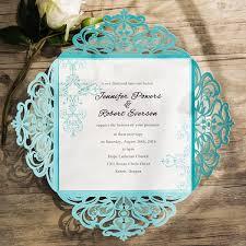 elegant wedding invitation kits. tiffany blue swirl laser cut wedding invitations ewws115-3 elegant invitation kits e