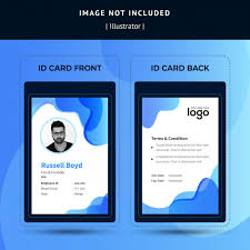 Business Id Template Business Id Card Template Vector Premium Download