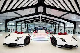 car showroom design luxury car