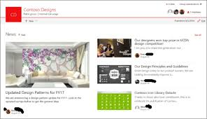 Sharepoint Website Example Create And Share News On Your Sharepoint Sites Office Support