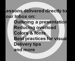 ten secrets for using powerpoint effectively think outside the slide get one week of lessons to improve your powerpoint presentations