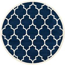 area rugs wilkin hand tufted dark blue ivory area rug