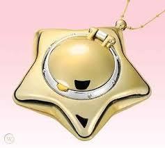 sailor moon star locket pendant