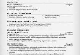 new grad nursing resume clinical experience new grad nursing resume clinical experience sample nursing resume
