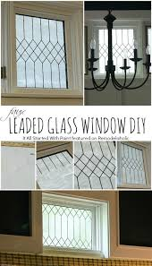how to diy faux leaded glass window it all started with paint on remodelaholic