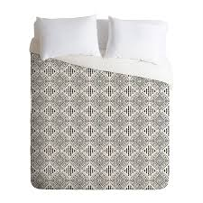 deny designs carribe multicolored queen duvet cover