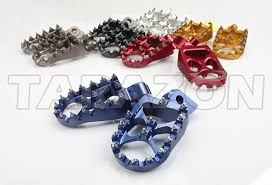 cnc anodized parts footpegs foot pegs ktm dirt bikes mx motocross
