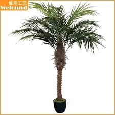 Artificial Palm Tree Coconut Fake Plant Indoor Trees Plants