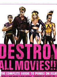 Destroy All Movies Punk Rock Leisure