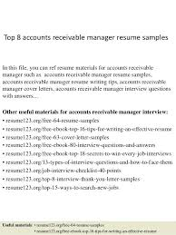 Account Receivable Resume Samples Accounts Payable Sample Accounting