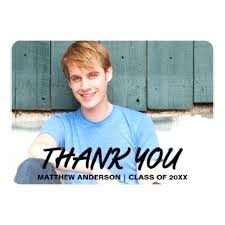 College Graduation Thank You Cards Free Congratulations Card