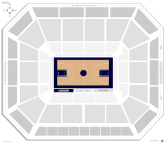 Auburn Seating Chart With Rows Auburn Arena Auburn Seating Guide Rateyourseats Com