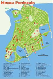 macau travel map  printable macau tourist maps