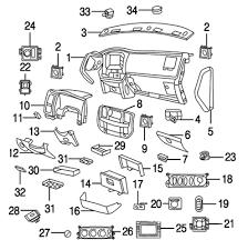 dodge truck interior parts mopar parts jim s auto parts 2010 2011 dodge ram 2500 3500 instrument panel
