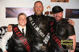 around good guy eric paul leue the new mr la leather 2016 did i just mention handsome congratulations to eric who is already doing a great job