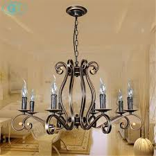 inspirational wrought iron chandelier or 2018 new europe style wrought iron chandelier vintage e14 candle res lovely wrought iron chandelier