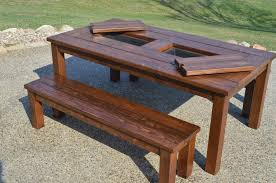 outdoor wooden tables. Wonderful Outdoor Outdoor Wooden Tables Round Wood Patio Table With In Decorating Vision  Furniture Solid Picnic From Throughout Wooden Tables N