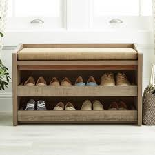 Entryway Shoe Storage Bench Coat Rack Entryway storage bench with coat rack plus hall storage bench seat 75