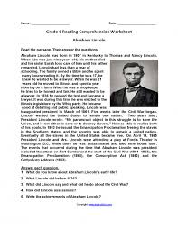Math. reading worksheets for 6th grade printable: Reading ...