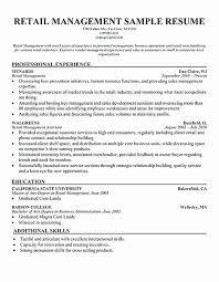 Shoe Repair Sample Resume Gorgeous 44 Glamorous Shoe Store Manager Resume Sierra