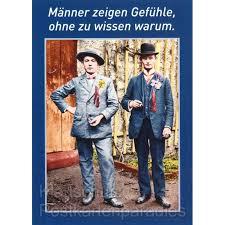 Männer Zeigen Gefühle Witzige Sprüche Postkarte