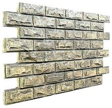 faux stone wall exterior diy interior cladding