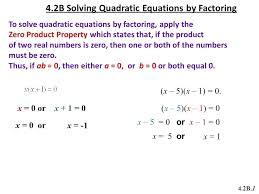 state the quadratic formula math solving quadratic equations by factoring mathnasium