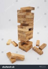 Wooden Brick Game Wood Block Tower Game Children Stock Photo 100 Shutterstock 56