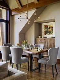 for this dining nook jay and his team splurged on the eye catching pendant but saved on a set of affordable dining chairs