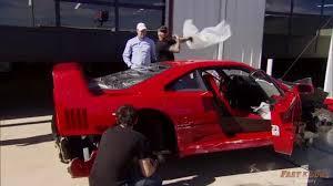 Gas Monkey Garage Save A Ferrari F40 Gargling Gas