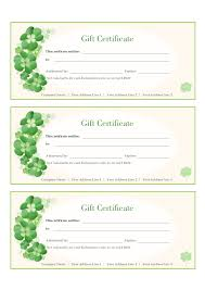 gift certificate template printable gift certificates in gift certificate template 02