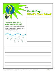 6th Grade Essay Prompts Earth Day Writing Prompt Whats Your Idea For Conservation