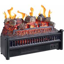 electric fireplace logs insert ling heater with