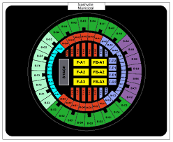Nashville Municipal Auditorium Seating Related Keywords